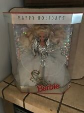 BARBIE COLLECTORS EDITION HAPPY HOLIDAYS SERIES 1992 NIB