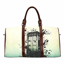 Doctor Who Tardis Custom Large Duffle Sports/Travel Bag