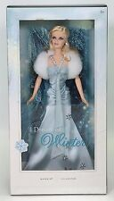 I DREAM OF WINTER BARBIE SILVER LABEL NRFB