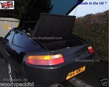 """PORSCHE 928 NUOVO """"posteriore copertura bagagli"""" Panno Nero UV-DESIGN ORIGINALE REPLICA"""