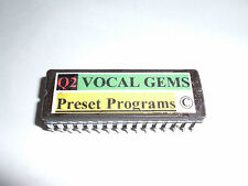 ALESIS Q2 VOCAL GEMS PRESETS EPROM CHIP - Copyrighted.