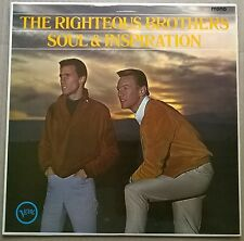 RIGHTEOUS BROS.Soul & Inspiration.ORIGINAL 1966 VERVE label vinyl L.P. VG++A1/B1