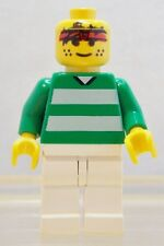 LEGO: MINIFIG: SPORTS: SOCCER: #3, Green & White Team