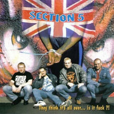 SECTION 5 - THEY THINK IT'S ALL OVER LP (2000) UK OI-PUNK / LIMITED EDITION !!!