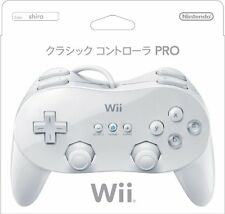 New Nintendo Wii Classic Controller RVL-A-R2W White Japan OFFICIAL F/S