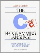 The C Programming Language 2nd Edition by Brian W. Kernighan (Paperback) NEW