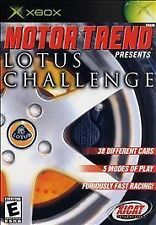 Motor Trend Presents Lotus Challenge ORIGINAL XBOX video game disc