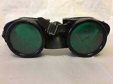 Vintage BOC Bocal Welders Safety Goggles Glasses Steampunk Aviator Motorcycle