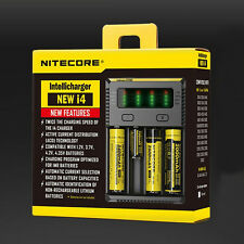 2016 NITECORE New i4 smart battery charger IMR/Li-ion/Ni-MH/Ni-Cd 18650/16340