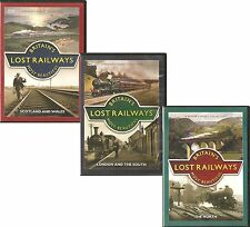 BRITAIN'S LOST RAILWAYS MOST BEAUTIFUL - 3 DVD SET, LONDON & THE SOUTH + MORE