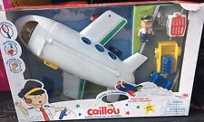 Caillou Travel Jet NEW IN BOX *Ships Free Today* Damaged Box