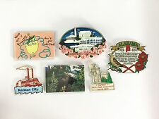 refrigerator magnet lot TRAVEL kansas alabama canada colorado pike washington DC