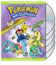 Pokemon Johto League Champions Complete Season 4 DVD Set Collection TV Anime Ash