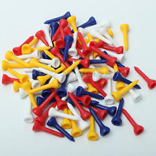 100Pcs 36mm Plastic Golf Tees Equipment for Beginner Training Practice Accessory