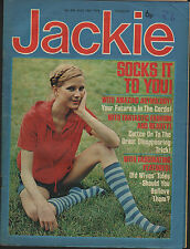 Jackie Magazine 16 August 1975 No.606      Ron & Russell Mael      Gary Glitter