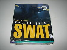 Sierra Police Quest SWAT PC Computer Game Win95 Win 3.1 MS-DOS 1995 New Sealed