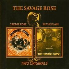 "The Savage Rose:  ""Savage Rose & In The Plain""  (2on1 Digipak CD Reissue)"
