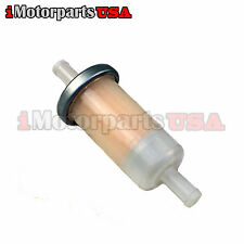 INLINE FUEL GAS FILTER FOR HONDA MOTORCYCLE SHADOW CB CBR VFR ST VT VTX VFR GL