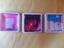 3 THE CURE ALBUM BADGES / PINS FREE POSTAGE IN THE UK