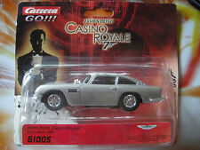 Carrera Go James Bond 007 auto Aston Martin db5 CAR 1:43 NUOVO OVP DA COLLEZIONE