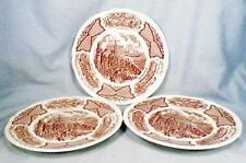 3 Alfred Meakin Fair Winds Bread & Butter Plates Chinese Export To America As Is