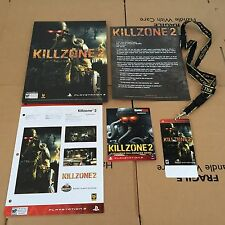 KILLZONE 2 - SONY PS3 PLAYSTATION 3 GAME PROMO USA MEDIA PRESS KIT PACK - MINT