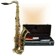 NEW BROADWAY ST3300 TENOR SAX WITH MATCHING DELUXE SAXOPHONE HARDSHELL CASE