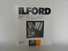 ILFORD MGIV RC DELUXE 8x10 SATIN 25 DARKROOM PAPER