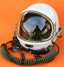 RARE Flight Helmet High Altitude Astronaut Space Pilots Pressured  HELEMT BAG