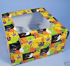 Halloween Wilton Happy Haunters Cupcake Treat Boxes 3pcs Cupcake Holders Supplie