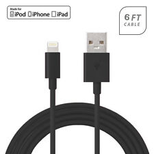 """USB Lightning Connector Data Charger 6 Ft Cable ForApple iPhone 6 Plus 5.5"""""""