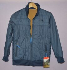 The North Face Boys Yukon Reversible Jacket COSMIC BLUE Insulated M New $110