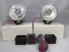 "UNIVERSAL 3.5"" 12V H3 55W ROUND REPLACEMENT FOG LIGHTS DRIVING LAMPS TRUCK CAR"