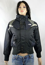 The North Face Women's Steep Tech Bomber Snow Jacket Black NWT $299 S