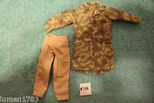 "CAMO SHIRT PANTS MILITARY STYLE OUTFIT DRAGON DID GIJOE 12"" FIGURE ITEM#196"