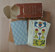 Vintage 1950's French Tarot de Marseille Cards Deck A Camoin 1760 Reproduction