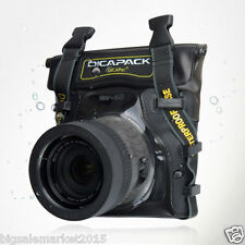 DiCAPac WP-S5 Waterproof Case for 100D X7 1200D D5300 D750 D7100 D800E a77 II Df