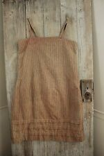 Vintage French woman's sundress sun dress shift peasant workwear clothing