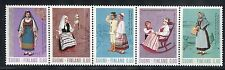 FINLAND 1973 REGIONAL COSTUMES/DISTAFF/SPINDLE/FLOWERS/ROCKING CHAIR/BOAT MNH