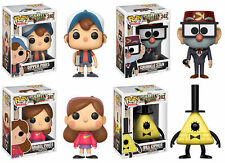FUNKO POP! ANIMATION GRAVITY FALLS COMPLETE SET OF FOUR FIGURES (PREORDER)