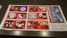 An Elf Story On The Shelf Block Book Panel 23x42 Quilting Treasures Christmas
