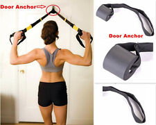 Resistance Bands Foam Door Anchor Strap Exercise Training Attachment D-ring