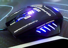 Pulso gamergrade ® Extreme Pro Gaming Mouse macro programables 8 botón 8 Colores