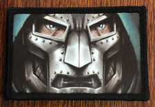 Dr Doom Mask Morale Patch Marvel Tactical Tactical Military Army Badge Hook Flag