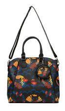 Jawbreaker Japanese Kitty fan Flower retro bolso Bag rockabilly