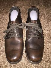 MEN'S ALDO BROWN LEATHER CHUKKA OXFORDS ANKLE BOOTS SHOES SIZE 10 / 43