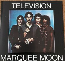 Television - Marquee Moon (1989) - New Wave Tom Verlaine