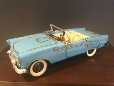EARLY VINTAGE FORD T THUNDER BIRD CONVERTIBLE MUSTANG MODEL COLLECTABLE METAL
