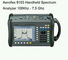 AEROFLEX 9103 100KHz - 7.5GHz Portable RF Digital Spectrum Analyser. Brand New