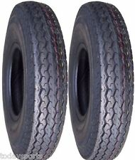 TWO 480x12, 480-12. 4.80X12, 4.80-12 Boat Trailer Tires Load C 6 ply DEESTONE